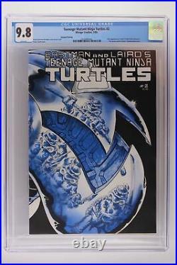 Teenage Mutant Ninja Turtles #2 -Mirage- CGC 9.8 1st April O' Neil 2nd print