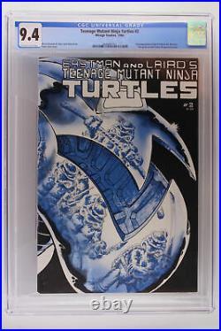 Teenage Mutant Ninja Turtles #2 Mirage Studios 1984 CGC 9.4 1st App April