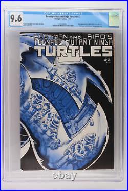 Teenage Mutant Ninja Turtles #2 Mirage Studios 1984 CGC 9.6 1st App April