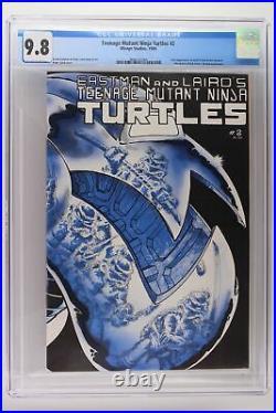 Teenage Mutant Ninja Turtles #2 Mirage Studios 1984 CGC 9.8 1st App April