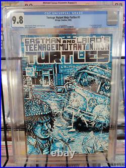 Teenage Mutant Ninja Turtles #3 (1985) Cgc Grade 9.8 1st Print
