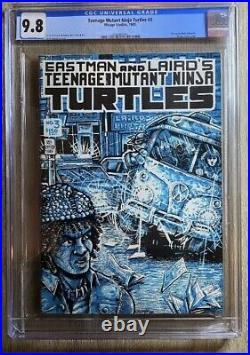 Teenage Mutant Ninja Turtles #3 1985 Tmnt Eastman & Laird Mirage Cgc 9.8