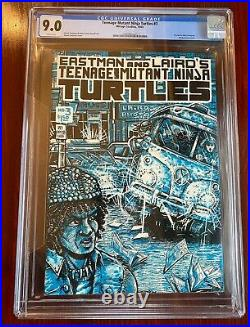 Teenage Mutant Ninja Turtles #3 CGC 9.0 White Pages First Print TMNT Mirage 1985