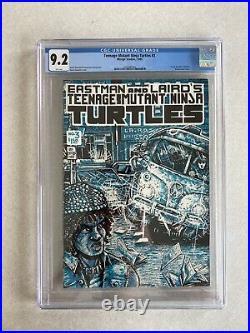 Teenage Mutant Ninja Turtles #3 CGC 9.2 WP 1985 First Print