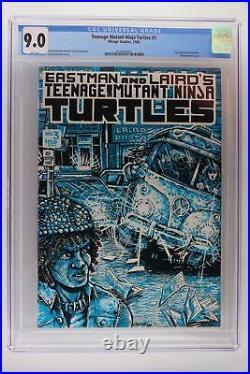 Teenage Mutant Ninja Turtles #3 Mirage 1985 CGC 9.0