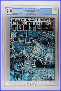 Teenage Mutant Ninja Turtles #3 Mirage 1985 CGC 9.4