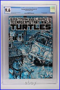 Teenage Mutant Ninja Turtles #3 Mirage 1985 CGC 9.6
