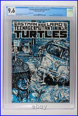 Teenage Mutant Ninja Turtles #3 Mirage 1985 CGC 9.6 Color Variant Cover