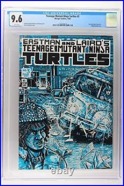 Teenage Mutant Ninja Turtles #3 Mirage 1985 CGC 9.6 Wraparound Cover