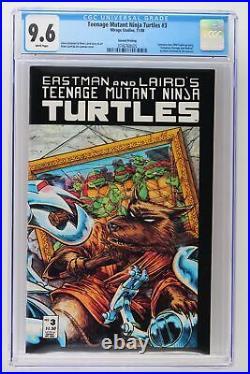 Teenage Mutant Ninja Turtles #3 Mirage 1988 CGC 9.6 2nd Print