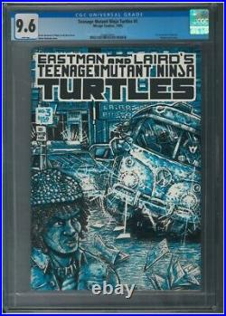 Teenage Mutant Ninja Turtles #3 White Pages Mirage 1985 1st Print CGC 9.6