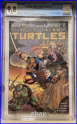 Teenage Mutant Ninja Turtles 47 Mirage, Tmnt 47, Space Yusagi, CGC 9.8