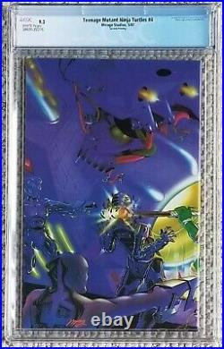 Teenage Mutant Ninja Turtles #4 2nd Second Print Konami Game 1987 CGC 9.2 W