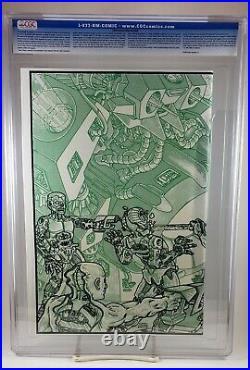 Teenage Mutant Ninja Turtles #4 CGC 9.8 1st Print NM 1985 Mirage TMNT