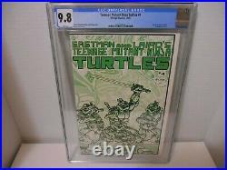 Teenage Mutant Ninja Turtles 4 CGC 9.8 1st Printing Mirage 1985 TMNT