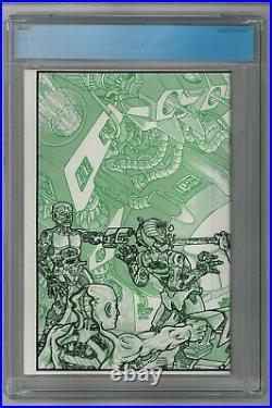 Teenage Mutant Ninja Turtles #4 CGC 9.8 1st print 1985