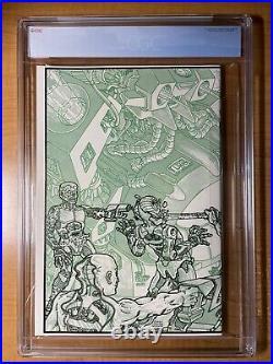 Teenage Mutant Ninja Turtles #4 CGC 9.8 White Pages