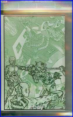 Teenage Mutant Ninja Turtles #4 Cgc 9.8 White Pages // 1st Print 1985 Mirage