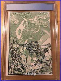 Teenage Mutant Ninja Turtles #4 First Printing 9.6 CGC Grading