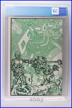 Teenage Mutant Ninja Turtles #4 Mirage 1985 CGC 9.2 Wraparound Cover