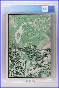 Teenage Mutant Ninja Turtles #4 Mirage 1985 CGC 9.4 Wraparound Cover