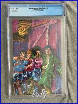 Teenage Mutant Ninja Turtles #4 Mirage CGC 8.0 2nd Print ERROR RECALLED COVER