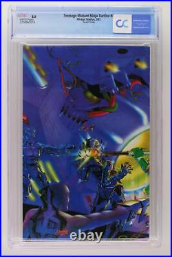 Teenage Mutant Ninja Turtles #4 Mirage Studios 1987 CGC 8.0 2nd Print