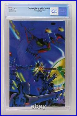 Teenage Mutant Ninja Turtles #4 Mirage Studios 1987 CGC 9.8 2nd Print