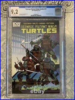 Teenage Mutant Ninja Turtles #51 Cgc 9.2 1st Appearance Jennika Tmnt Idw 2015