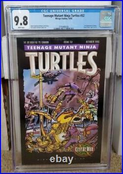 Teenage Mutant Ninja Turtles 52 CGC 9.8 WP 1st Appearance Karai
