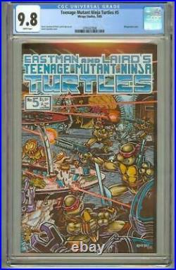 Teenage Mutant Ninja Turtles #5 Cgc 9.8 First Printing