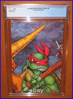 Teenage Mutant Ninja Turtles #6 CGC 9.8 WHITE pages! A CGC TOP 50 copy! 12HDpix