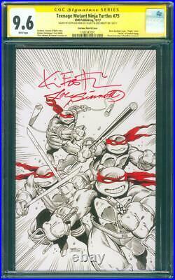 Teenage Mutant Ninja Turtles 75 CGC SS 9.6 Sinnott Eastman Virgin Sketch Variant