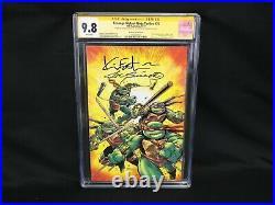 Teenage Mutant Ninja Turtles #75 Eastman Variant Signed Eastman/Sinnott CGC 9.8
