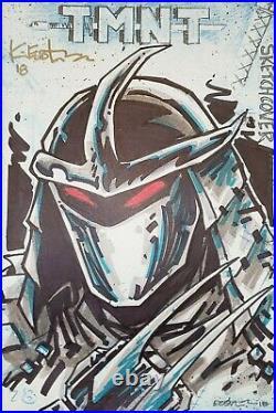 Teenage Mutant Ninja Turtles #78 (IDW) CGC 9.8 Shredder Kevin Eastman Sketch