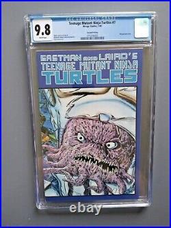 Teenage Mutant Ninja Turtles #7 2nd Print CGC 9.8