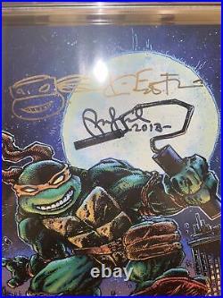 Teenage Mutant Ninja Turtles #80 CGC 9.8 Signed Peter Laird And Kevin Eastman