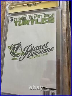 Teenage Mutant Ninja Turtles #80 Kevin Eastman Planet Awesome Variant CGC SS 9.8