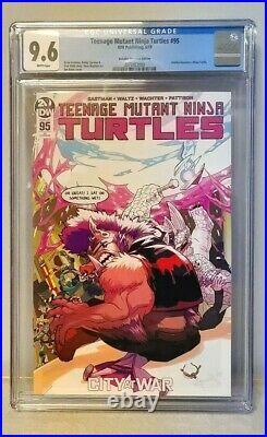 Teenage Mutant Ninja Turtles 95 CGC 9.6 Ben Bates Variant Jennika TMNT IDW