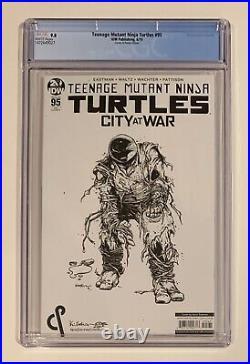 Teenage Mutant Ninja Turtles #95 CGC 9.8 Variant, 1st Jennika Comics Ponies TMNT