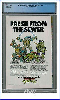 Teenage Mutant Ninja Turtles Adventures #1 (1989) Archie CGC 9.8 FF448