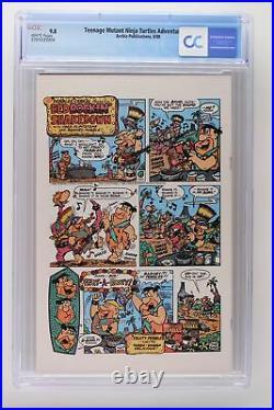 Teenage Mutant Ninja Turtles Adventures #1 Archie 1988 CGC 9.8 1st comic book