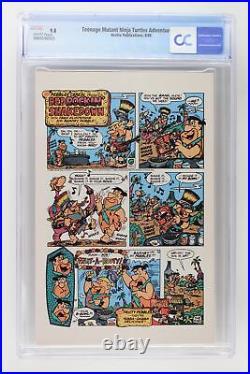 Teenage Mutant Ninja Turtles Adventures #1 Archie 1988 CGC 9.8 Highest Grade