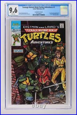 Teenage Mutant Ninja Turtles Adventures #1 -Archie- CGC 9.6 Canadian Variant
