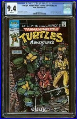 Teenage Mutant Ninja Turtles Adventures #1 CGC 9.4 (1988 Mini-Series)