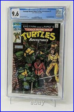 Teenage Mutant Ninja Turtles Adventures 1 CGC 9.6