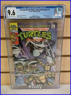 Teenage Mutant Ninja Turtles Adventures #1 CGC 9.6 (Archie 1989) TMNT