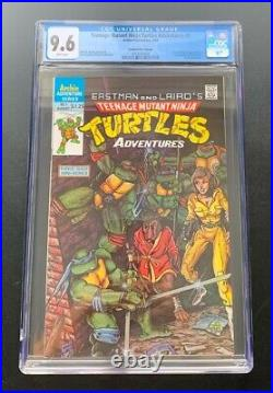Teenage Mutant Ninja Turtles Adventures 1 CGC 9.6 WP Canadian Price Variant 1988