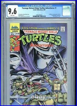 Teenage Mutant Ninja Turtles Adventures #1 CGC 9.6 White 1989