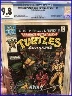 Teenage Mutant Ninja Turtles Adventures #1 CGC 9.8
